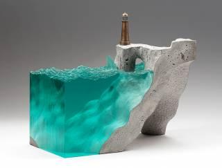 Если соединить бетон и воду получится нечто очень необычное