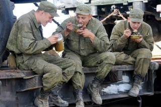 Российские командиры на Донбассе решили соблюдать пост. В общем солдаты голодают