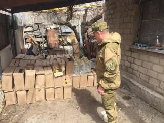 Перекрыт нелегальный канал поставок спирта из России в Украину