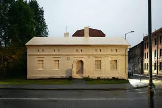 В Польше историческое здание... оклеили снаружи обоями