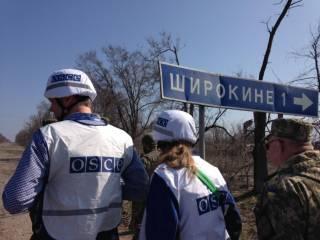 ОБСЕ заявляет об угрозах боевиков открыть огонь по наблюдателям