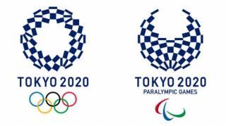 В Токио представили официальный логотип Олимпиады-2020