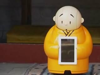 В буддийском храме в Пекине появился первый в мире робот-монах