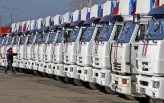 В конце мая на Донбасс отправится очередной «братский» «гумконвой»