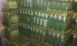 На Буковине пограничники изъяли у пронырливых друзей почти 3 тонны спирта и 200 ящиков паленой водки
