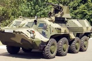 В Одессу пригнали бронетехнику для охраны города во время майских праздников