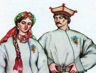 Хуто-хуторянка, или История одного переселения. Часть 66 (свадебный наряд в разных регионах Украины. Продолжение)