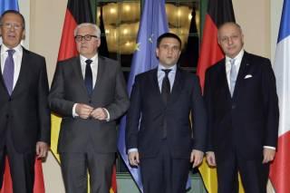 Следующая встреча глав МИД «нормандской четверки» состоится 11 мая в Берлине, чтобы «разрушить блокаду между Киевом и Москвой»