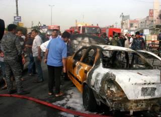 В Багдаде взорвался заминированный автомобиль: 14 погибших, 41 раненый