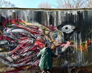 Перед вами одни из самых необычных граффити в мире