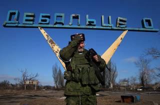 В Дебальцево прибыло подразделение нацгвардии РФ /разведка/