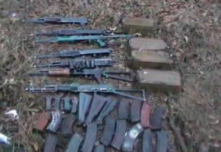 На Донетчине найдены два схрона с оружием
