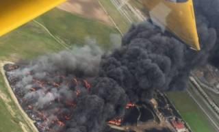 Из-за масштабного пожара около Мадрида эвакуируют 9 тысяч человек