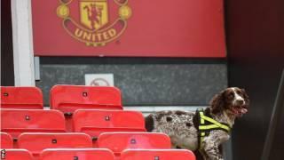 В Манчестере муляж бомбы, оставленный на стадионе после учений, сорвал футбольный матч