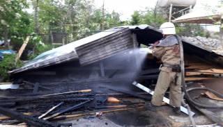 Ночью в Одесской области горели сразу две базы отдыха