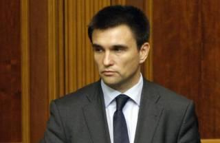 Климкин показал в Брюсселе видео, доказывающее присутствие российской военной техники на Донбассе