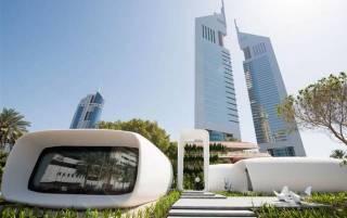 В Дубае запустили в полноценную эксплуатацию первое в мире здание, распечатанное на 3D-принтере