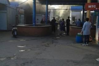 В Макеевке горел рынок. Поговаривают, что налоговики ДНР так мстили местным бизнесменам