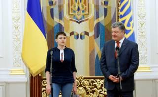 Что будет с рейтингом Порошенко после возвращения Савченко?