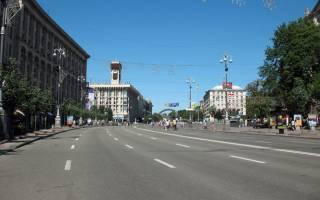 Столичные власти готовятся к празднованию Дня Киева. Обнародован список улиц, по которым будет перекрыто движение