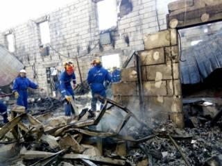 Под Киевом сгорел подпольный дом престарелых. Подтверждена информация о гибели 17 человек