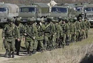 Российские войска готовятся пробить сухопутный коридор в Крым  /СНБО/