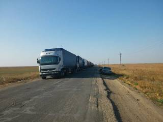 «Укравтодор» запретил фурам ездить днем