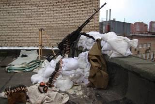 Донецкие боевики используют крыши жилых домов как площадки для обстрелов