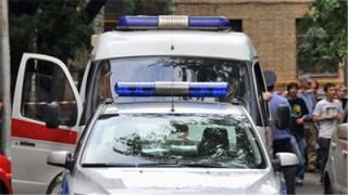 На Львовщине возле отделения «Ощадбанка» прогремели два взрыва