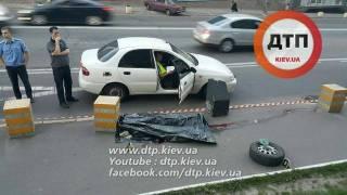В Киеве колесо, отлетевшее от автомобиля, убило пешехода