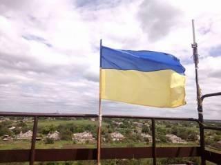 Над Павлополем снова реет украинский флаг