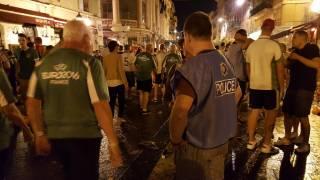 В Ницце футбольные болельщики устроили массовую драку