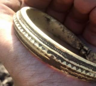 В Дании нашли золотой клад викингов