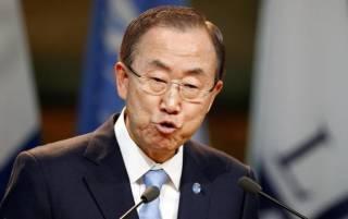 После жалобы Украины в ООН отредактировали речь Пан Ги Муна