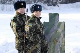 В украинской армии служат более 17 тысяч женщин