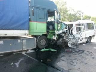 В России разбился автобус с украинцами. Есть погибшие