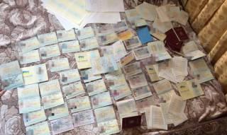 В Киеве накрыта банда, которая изготавливала фальшивые загранпаспорта