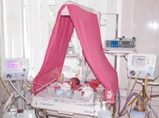 Одесситка родила сразу пятерых малышей