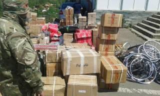 На Донбасс пытались переправить партию запчастей