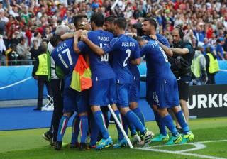 Евро-2016: Италия отправляет Испанию домой