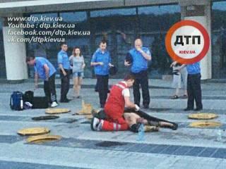 В Киеве ремонтные работы на Набережной закончились смертью человека