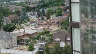 В Канаде прогремел мощный взрыв. Есть жертвы и разрушения