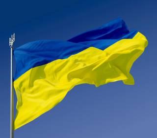 В День Конституции под Славянском надругались над флагом Украины