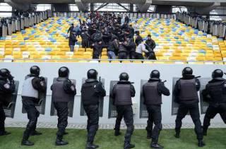 Украина будет следить за безопасностью на стадионах по-европейски