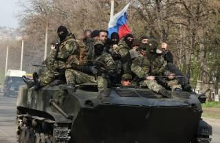 Под Новоазовском замечены подразделения российских войск
