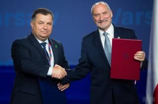 Украина и Польша подписали Соглашение о военно-техническом сотрудничестве