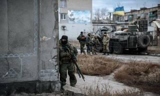 Под Троицким военные взяли в плен  российских диверсантов