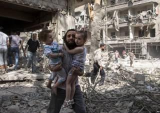 Россия продолжает бомбить Алеппо. Погибли дети