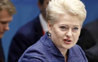 Грибаускайте призывает воспринимать паранойю Путина всерьез