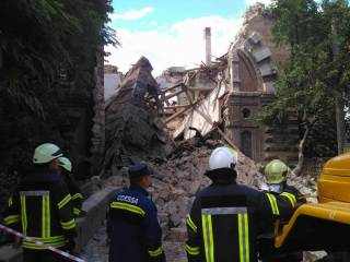 В Одессе рухнул масонский дом. Отличный повод построить новый бизнес-центр